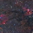 Cave Nebula - LRGB,                                Hytham