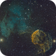 IC 443 - The Jellyfish Nebula in narrowband with the ASI 1600MM,                                Antoine Grelin