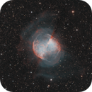 M027 2020 HII OIII bicolor and RGB stars,                                antares47110815