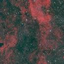 Portion vdB 130 + NGC6888,                                Federico Bossi