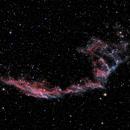 NGC 6992  Eastern Veil Nebula,                                Roger Menard