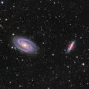 M81 & M82 HaLRGB,                                Sergiy_Vakulenko