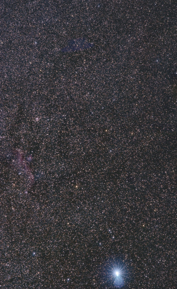 Sirius & Seagull Nebula Region,                                Jan Curtis