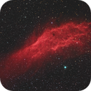 California nebula HaRGB at 135mm,                                Ben