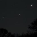 Saturn, Mars and Jupiter, March 26, 2020,                                Steven Bellavia