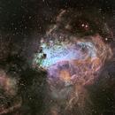 M17 Omega nebula,                                Chassaigne