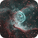 NGC 2359 -  Thor's Helmet in HOO,                                Ron