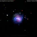 ngc4228 galassia irregolare nei cani venatici                                 distanza  7,5 milioni   A.L.,                                Carlo Colombo