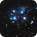 M45 - Pleiades,                                krsamec