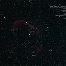 NGC 6888 (Cresent Nebula) in Cygnus,                                MJF_Memorial_Observatory