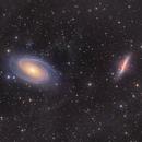 Ursa Major galaxy Ballet - M81 and M82  and the IFN - wide field,                                Arnaud Peel