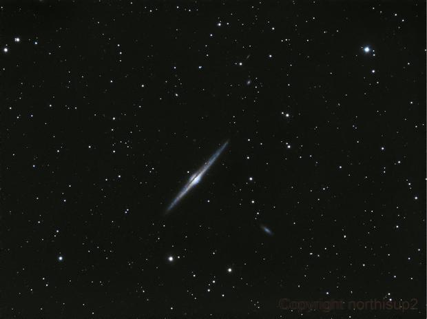 NGC 4565,                                John Leader