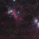 Complex nebula in Orion.,                                ElioMagnabosco