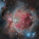 Messier M42, Orion Nebula,                                Astrofotografia A.R.B.