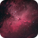 Eagle nebula,                                rooftopastro.com