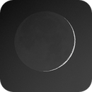 Very Young Moon 2% illuminated,                                hbastro