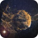 IC443 - Jellyfisch Nebula SHO,                                Hartmuth Kintzel
