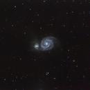 The Whirlpool Galaxy (M51A & M51B),                                dnault42