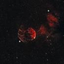 IC433 Jellyfish Nebula on a Christmas night!,                                Chris Hunt
