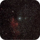 IC63 (the ghost  of Cassiopeia) and IC59,                                Peter Juhlin