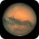 Mars on 06.10.2020 - craters visible!,                                Henning Schmidt