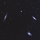 The Leo Triplet: M65, M66 and NGC 3628,                                Steve Lantz