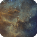 NGC 2237 - Rosette Detail - Pillars,                                Kyle Pickett