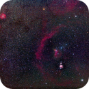 Orion with Barnard's Loop (Sh 2-276) and Rosette Nebula,                                Mat