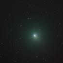 Comet 46P/Wirtanen  - between 2 clouds ...,                                  Arnaud Peel