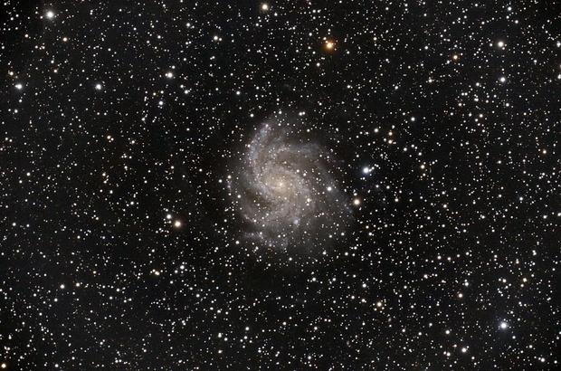 NGC 6946 - Fireworks Galaxy,                                Jinyoung