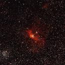 NGC 7635,                                Jacques CROIZIERS