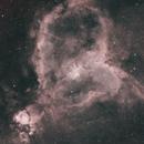 Heart Nebula, IC 1805, Sharpless 2-190,                                ks_observer
