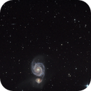 M51 first light,                                antares47110815