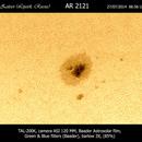 SunSpot AR2121,                                Alexander Zaitsev