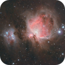 Orion and surrounding dusts,                                Lorenzo