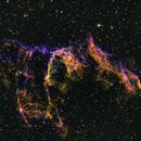 Eastern Veil Nebula, CFHT Palette,                                Don Holmgren