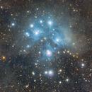 Pleiades and Molecular Dust,                                Anurag Wasnik