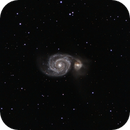 M51, Whirlpool Galaxy,                                Burk Young