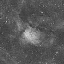 NGC 6820 + NGC 6823 - H-Alpha @200mm,                                Oliver