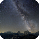 Swiss prealps and milky way,                                  Martin Mutti