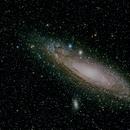 M31 Andromeda Galaxy from Costa Rica,                                Tizoc Suarez