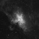 The Eagle Nebula in H-Alpha,                                Johannes Schiehsl