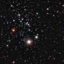 NGC 457 color picture,                                  Niels V. Christensen