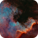 NGC7000 - 50 shades of non - grey. The wall is burning!!!,                                Axel