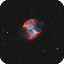 The Dumbbell Nebula (bicolor with ASI120mm),                                Michal Rak