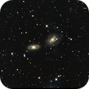 NGC 3166 and 3169 in Sextans,                                Terry Danks