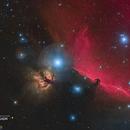 Nébuleuse de la tête de Cheval (IC 434) - Sadr Espagne,                                Julien Bourdette