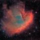NGC 281 - PacMan Modified SHO,                                David Andra