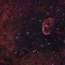 Crescent Nebula - NGC6888,                                Anirban Ray
