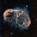 NGC 6888 - Crescent Nebula- HOO Reprocessed,                                Elboubou